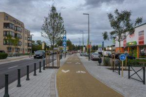 Boulevard de la Deuxième Armée Britannique Britse Tweedelegerlaan fietspaden pistes cyclables