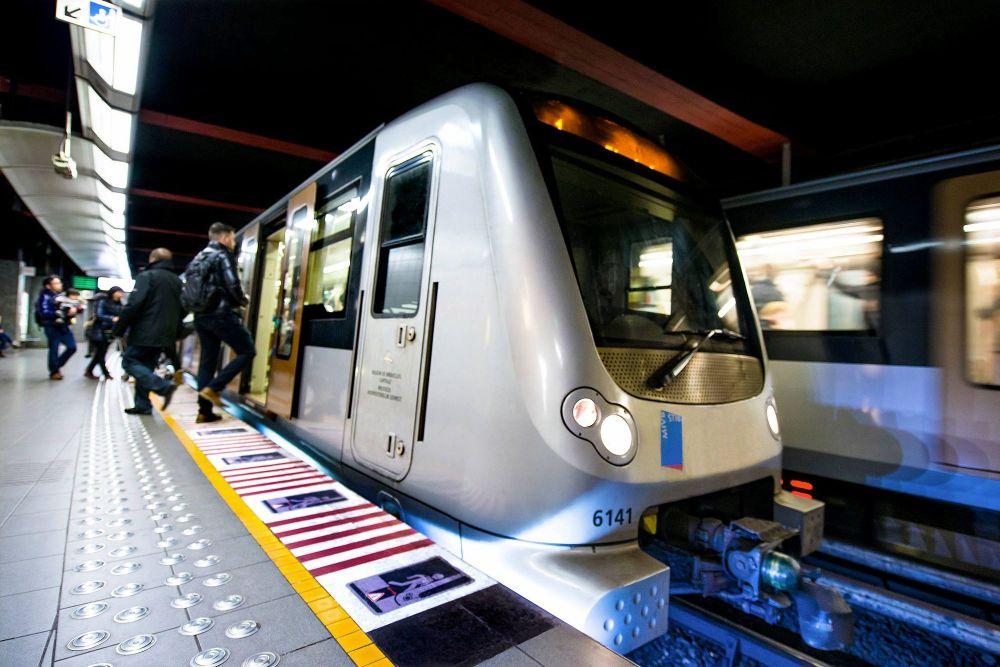 Metro 3 stib mivb station