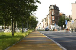 Allée Verte Groendreef fietspaden pistes cyclables