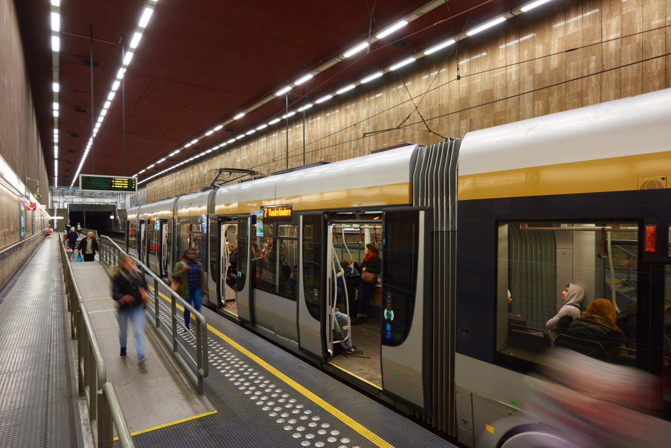 rampes métro