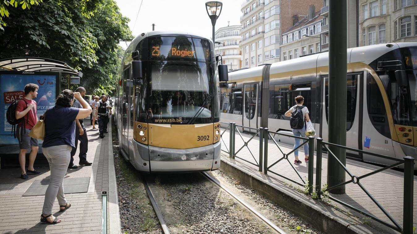 Tram STIB
