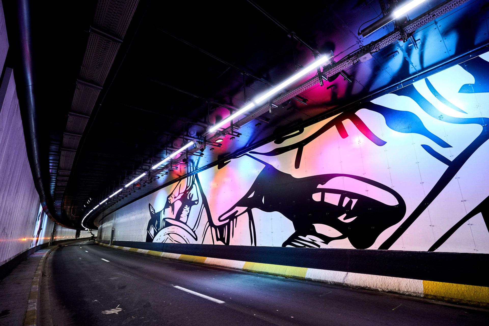 Tunnel porte de Hal 7