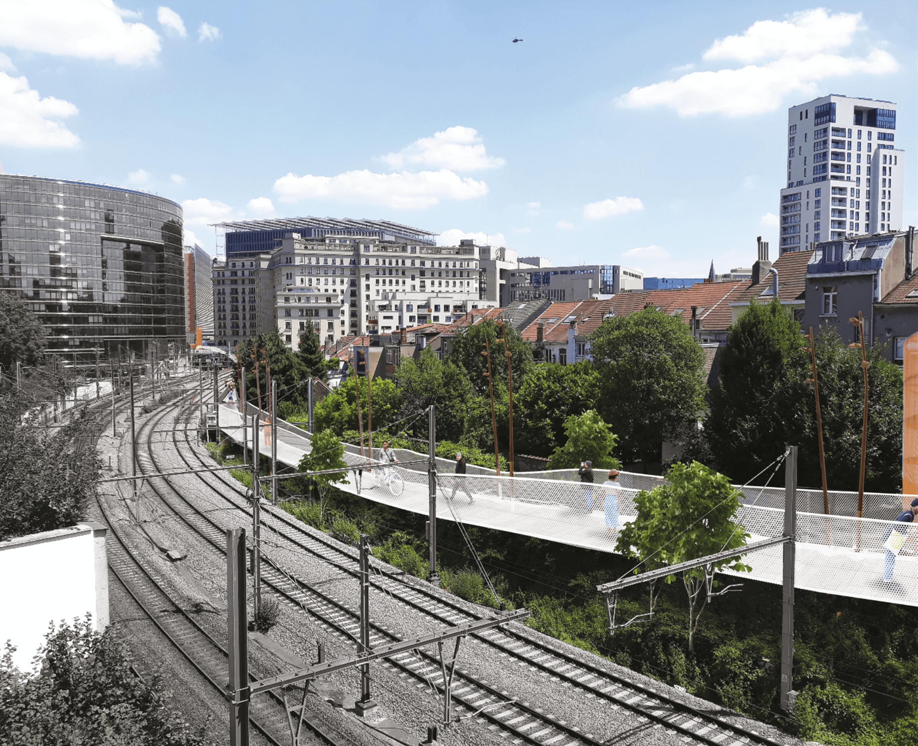 Passerelle Schuman - Luxembourg 2