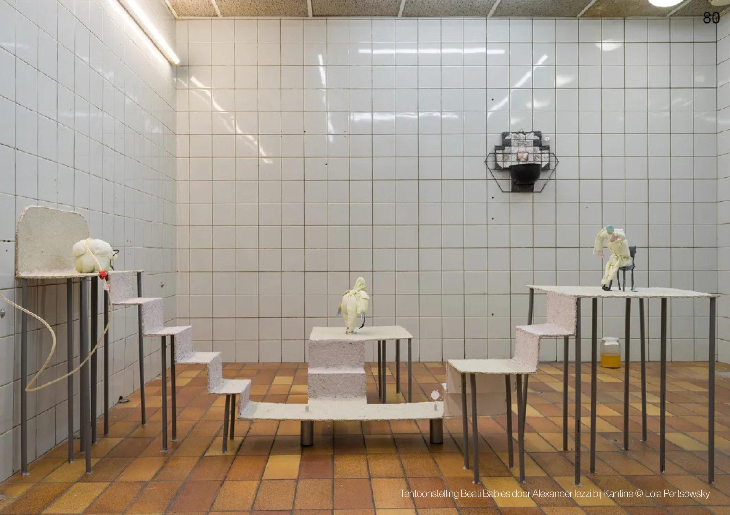 PlanAtelier - Tentoonstelling Beati Babies door Alexander Iezzi bij Kantine (c) Lola Pertsowsky
