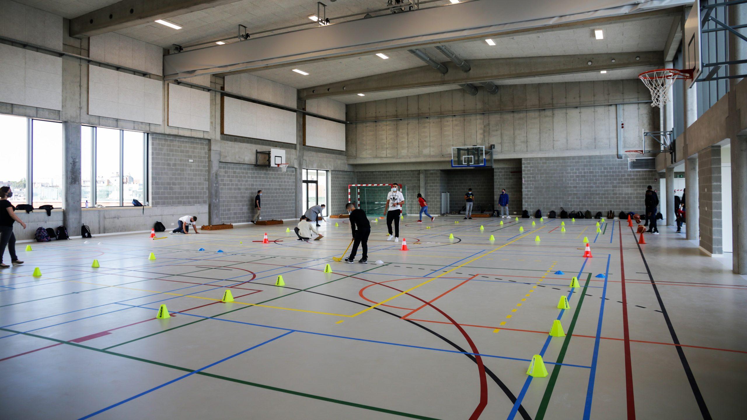 Sportzaal scholencampus Sint Michel